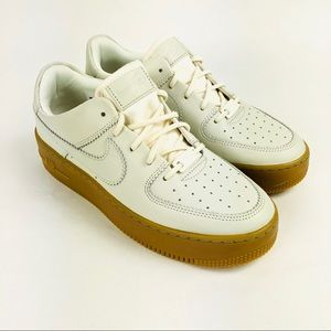 Nike Air Force 1 Sage Low LX Shoes Pale Ivory 8.5